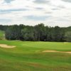 A view of the 9th green at Cleghorn Plantation Golf & Country Club.