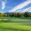A view of a green at  The Country Club of Sapphire Valley