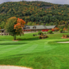 A fall day view from The Country Club of Sapphire Valley