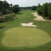 Aerial view of hole #4 at Waterway Course from Arrowhead Country Club