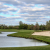 Bunkered greeen at Audubon Park Golf Course