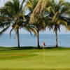 A view of a green at Estrella del Mar Golf and Beach Resort