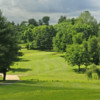 A view from the 10th tee at John F. Byrne Golf Course