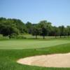 A view of the 12th green at Pitman Golf Course