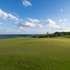 A view of a hole at Abaco Club on Winding Bay