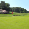 A sunny day view of a hole at Ashridge Golf Club