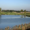 A view over the water from PGA National Course at Belfry Golf Club