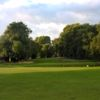 A view of a green at Great Barr Golf Club
