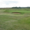 A well protected green at Hunstanton Golf Club