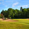 A view of the well protected hole #2 at Little Aston Golf Club