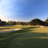A view of hole #8 at Championship Course from Royal Sydney Golf Club