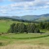 The 13th green at The Moffat Golf Club