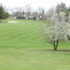 A spring day view of a fairway at Shenvalee Golf Club