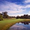 A view of hole #14 at Lake Course from Yarrawonga Mulwala Golf Club Resort