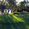 A view of a green at Yarrawonga Mulwala Golf Club Resort