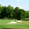 View of the 6th green from the Chateau Course at Chateau Elan Golf Club