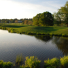View of the 11th green from the Chateau Course at Chateau Elan Golf Club