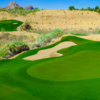 View of the 10th green at Quarry Pines Golf Club