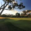 A view of hole #2 at Woodlands Golf Club