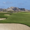 A view of a green protected by bunkers at Sheraton New Caledonia Deva Resort & Spa Exclusiv Golf