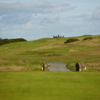 A view from Kirkistown Castle Golf Club