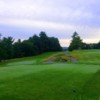 A view from the blue tee at Country Club of Farmington