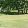 A view of the 3rd green at Frankford Golf Course