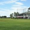 A view of a tee at Royal Brunei Airlines RBA Golf Club