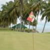 A view from green #16 at Pantai Mentiri Golf Club