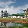 A view over a  pond at Panaga Golf Club