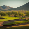 View of the 4th green at Dove Valley Ranch Golf Club
