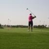 A view of a tee at Safaa Golf Club and Academy (KAUST)