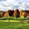A fall day view of a hole at Wheeling Park Golf Course (Cole Simms)