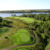 Dundarave GC: Aerial view of #8