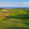 View from the no. 9 at The Links at Crowbush Cove