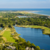 Osprey Point at Kiawah Island Resort: Aerial view of holes #10 & #18