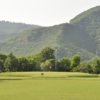 A view of a green at Pakistan Air Force Golf Club
