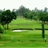 A view of a green at Lahore Garrison Golf & Country Club