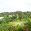 A view of the 14th green at Coral Ocean Golf Resort