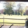 A fall day view from Borland Golf Center