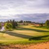 A view of the 9th green at Sand Valley Golf Resort