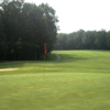 A view of the 6th green at Fall Creek Falls State Park Golf Course