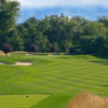 A view from a tee at Manhattan Woods Golf Club