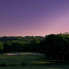 Sunset view of the 6th hole at Quail Run course at  Temple Hills Country Club