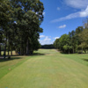 A view from a tee at Fall Creek Falls State Park Golf Course