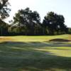 A view of a well protected green at The Golf Club of Cypress Creek