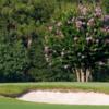 A view of a hole at Orangeburg Country Club
