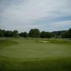 A view of green #17 at Franconia Golf Course