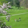 A spring day view from Bellevue Golf Club