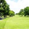 A view from a tee at Norwood Hills Country Club